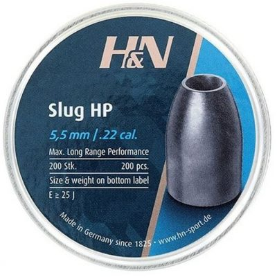 H&N Air Gun Pellet HP Slug .22