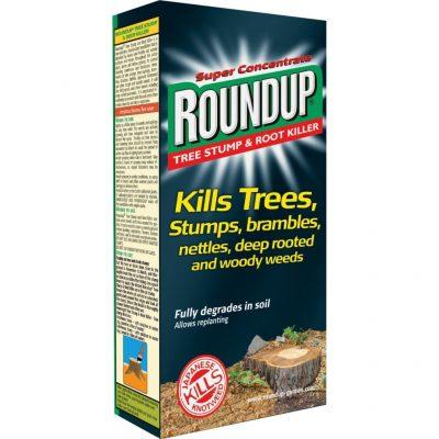 Roundup tree stump root killer
