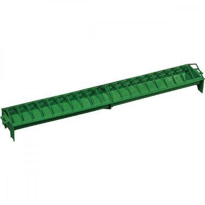 Plastic feed trough