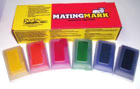 Matingmark ram crayon