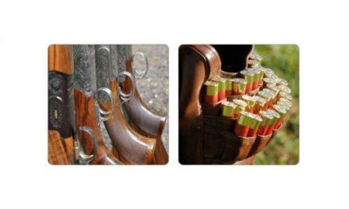 Coasters of Guns and Cartdridges