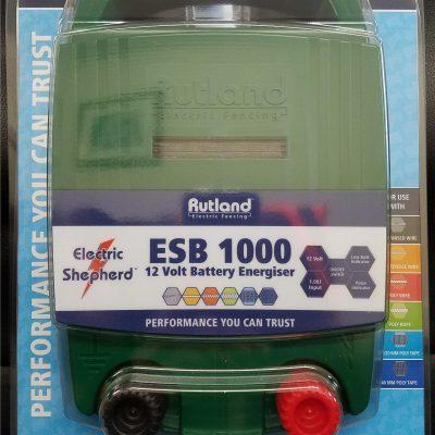 Rutland ESB1000 battery energiser