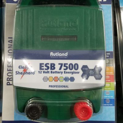 Rutland ESB7500 battery fence energiser