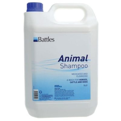 Battles animal shampoo