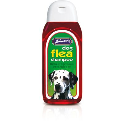 Johnsons dog flea shampoo