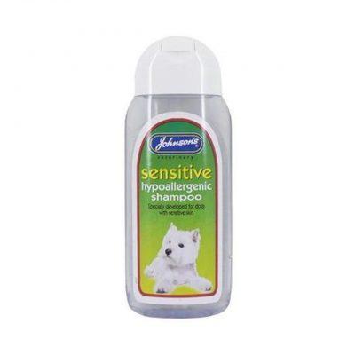 Johnsons sensitive shampoo